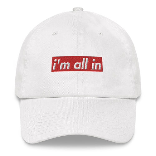 i'm all in hat