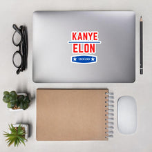 Load image into Gallery viewer, Kanye X Elon 2020 Stickers - wallstmemes