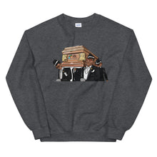 Load image into Gallery viewer, Coffin Dance Meme Bear Sweatshirt - wallstmemes