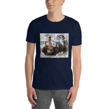 Load image into Gallery viewer, Bae Riding Wall St Bull T-Shirt - wallstmemes