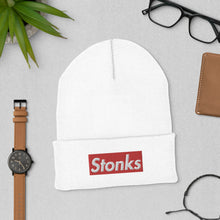 Load image into Gallery viewer, Stonks Trader Hat Limited Edition Beanie