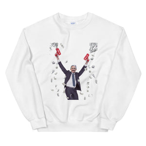 JPow Money Printer Sweatshirt - wallstmemes