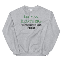 Load image into Gallery viewer, Lehman Brothers Risk Management Sweater