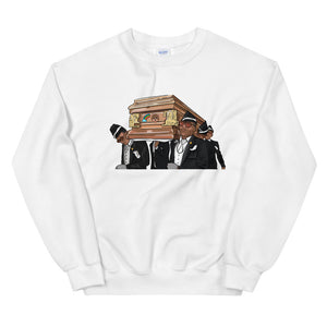 Coffin Dance Meme Bear Sweatshirt - wallstmemes