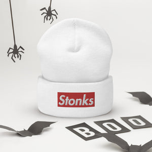Stonks Trader Hat Limited Edition Beanie