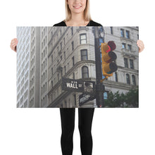 "Load image into Gallery viewer, Wall Street Art Canvas 24""x36"" - wallstmemes"