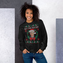 Load image into Gallery viewer, Warren Buffett BTFD Christmas Sweater
