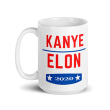 Load image into Gallery viewer, Kanye X Elon 2020 Mug - wallstmemes