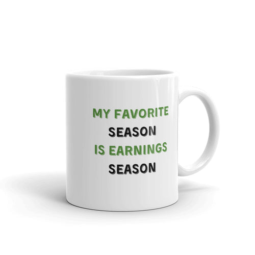 Earnings Season Mug - wallstmemes