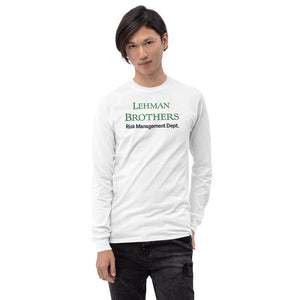 Lehman Brothers Risk Management Long Sleeve Shirt