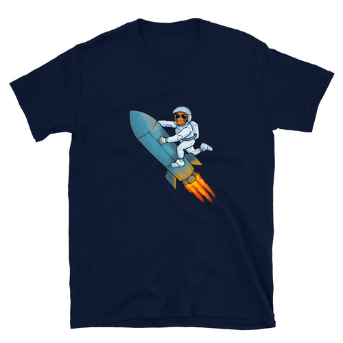 Apes to the Moon Rocket T-Shirt