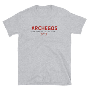 Archegos Risk Management Department  T-Shirt