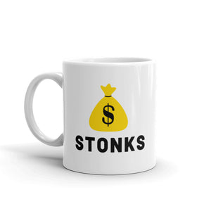 Money Bag Emoji Stonks *Limited Edition* Mug