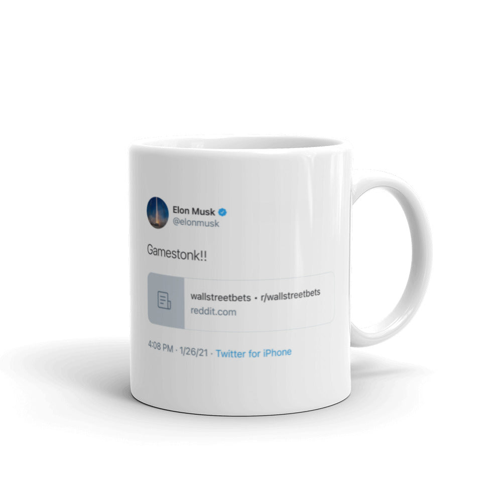 Elon GameStonk Tweet Mug