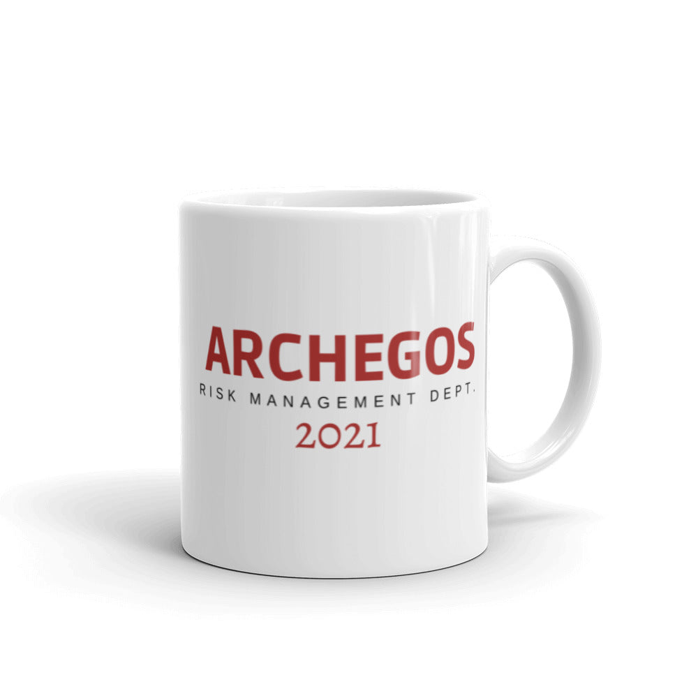 Archegos Risk Management Department Mug