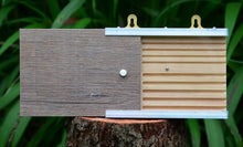 Load image into Gallery viewer, I - Specialised Bee Hotel - Open-View