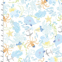 Ocean 50 - Itty Bitty Flannel- 12270