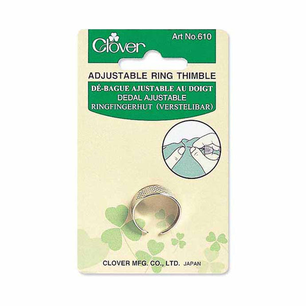 CLOVER 610 - Adjustable Ring Thimble