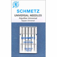 SCHMETZ #1708 Universal Needles Carded - 70/10 - 5 count WT
