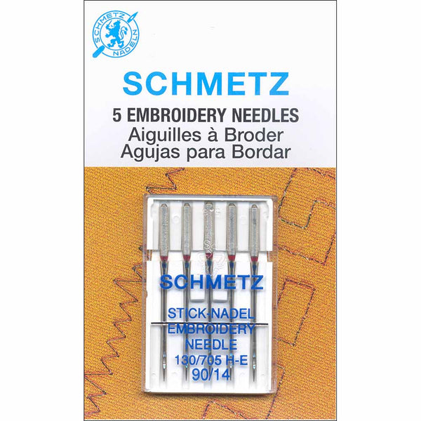 SCHMETZ #1720 Embroidery Needles Carded - 90/14 - 5 count