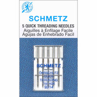 SCHMETZ #1791 Quick Threading Needles Carded - 90/14 - 5 count