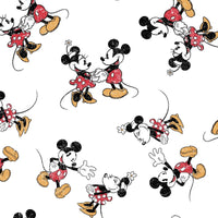 Disney 802- Mickey & Minnie Mouse Vintage Scattered