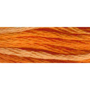 DMC #417F Color Variations Floss 8m - 4124