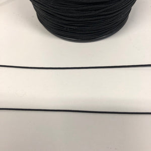 Drapery Cord 1mm- Black
