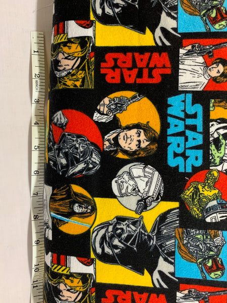 Star Wars- characters Flannel