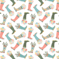 Wish for Rain Designer: Puck Selders - Rainboots- white