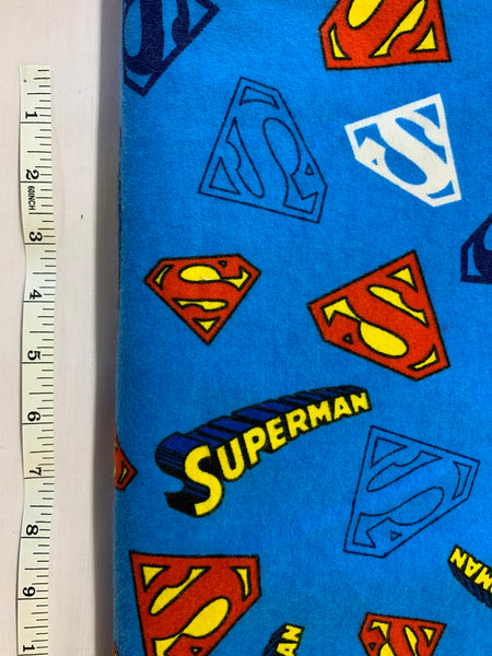 Superman Blue- Flannel