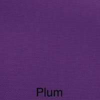 083 Plum-DOUBLE FACE SATIN 25M RIBBON 6MM POLYESTER