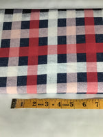 Flannel plaid pink #21