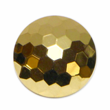 ELAN Shank Button - 12mm (1⁄2″) - 3 count- gold