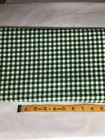 Flannel plaid green #22