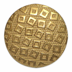 ELAN Shank Button - 18mm (3⁄4″) - 2 count- gold