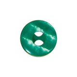 ELAN 2 Hole Button - 19mm (3⁄4″) - 2 count- green