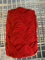 008 Rick Rack Braid 24mm - Red