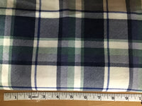 Flannel plaid Blue #7