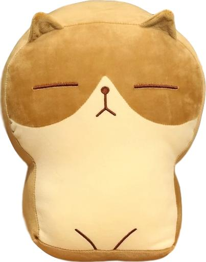 Disapproving Kitty Plush (4 COLORS, 2 SIZES) - Subtle Asian Treats