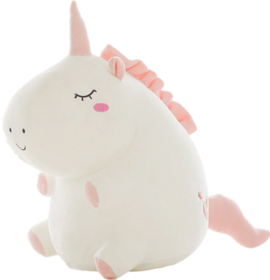 THICC Unicorn Plushie (2 COLORS, 3 SIZES) - Subtle Asian Treats