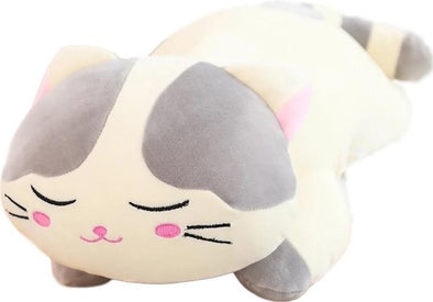 Lazy Cat Plush Toy (2 COLORS) - Subtle Asian Treats