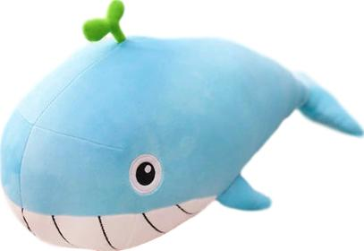 Wilbur the Whale Plushie (3 COLORS, 4 SIZES) - Subtle Asian Treats