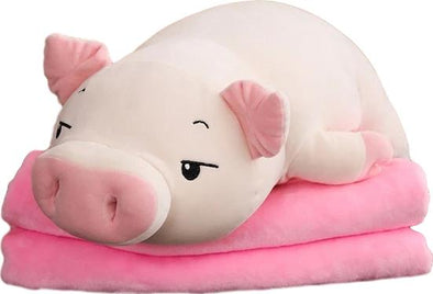Pat the Piggy Plush (4 VARIANTS, 4 SIZES) - Subtle Asian Treats