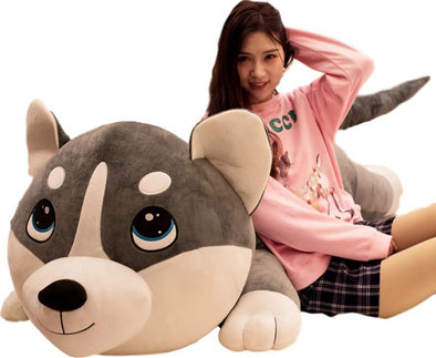 Holo the Husky Plush (3 COLORS, 3 SIZES) - Subtle Asian Treats