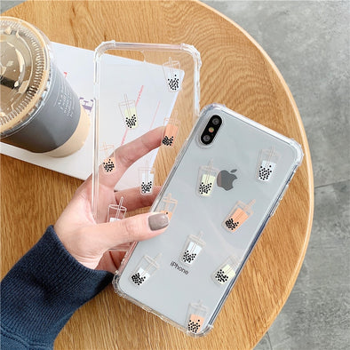 Boba Transparent Case - Subtle Asian Treats