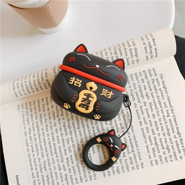 Lucky Cat AirPods Pro Case - Subtle Asian Treats