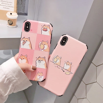 Hungry Shiba iPhone Cases - Subtle Asian Treats