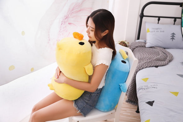 Floppy Duckie Plush (2 COLORS, 2 SIZES) - Subtle Asian Treats