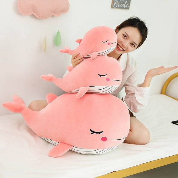 Just a Super Cute Whale (2 COLORS, 3 SIZES) - Subtle Asian Treats